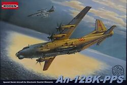 Rodenandreg 046 An-12bk-pps Special Soviet Electronic Counter Aircraft In 172