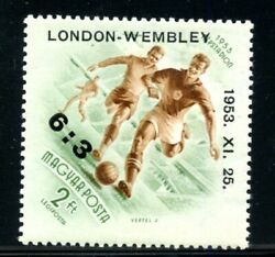 Hungary Scottc128 London Wembley Soccer Overprint Stamp Mint Never Hinged