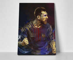Lionel Messi Barcelona Poster Or Canvas