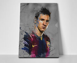 Lionel Messi Art Poster Or Canvas
