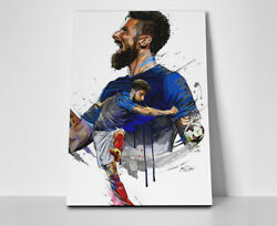 Lionel Messi Kick Poster Or Canvas