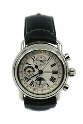 Aerowatch Chronograph Moon Limited Edition Stainless Steel Watch 64908