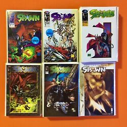 SPAWN #1-100 / TODD MCFARLANE IMAGE COMICS ANGELA 1st APPEARANCES / HUGE NM RUN!