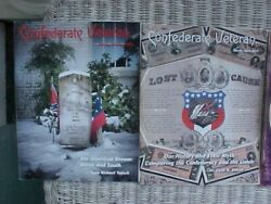 Confederate Veteran 2014 6 Issues 6th Alabama 3rd Texas 13 Headstones On Hill