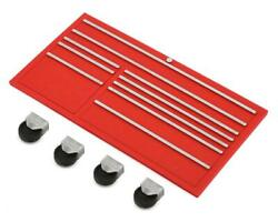 Scale By Chris Scale Shop Series Classic Tool Box Face W/casters Red