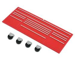 Scale By Chris Scale Shop Series Classic Xl Tool Box Face W/casters Red