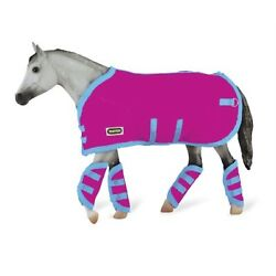 Reeves Breyer Tack Blanket amp; Shipping Boots Hot Pink
