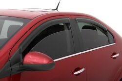 Rain Guards - Avs Tape-on Window Visors For Chevy Avalanche 2002-2006