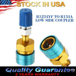 1Pc 7*2cm R1234YF Low Side Coupler to R134A Hose Adapter Quick Fitting Connector