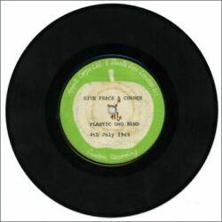 John Lennon Plastic Ono Band Give Peace A Chance Remember Love 7 Test Pressing