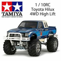 2019 Tamiya Japon Rc Voiture 1/10rc Toyota Hilux 4wd Haut Lift Rn36