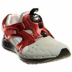 Puma Future Disc Lite Tech'd Out  Casual Running  Shoes - Grey - Mens