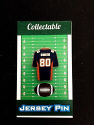 Denver Broncos Rod Smith Jersey Lapel Pin-throwback Styled Collectible