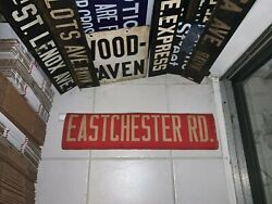 Ny Nyc Bus Roll Sign Bronx West Farms Eastchester Road Baychester Williamsbridge