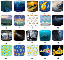 Lampshades Ideal To Match Yellow Submarine Pillows Nautical Wall Decals Stickers