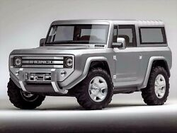Ford Bronco Concept Poster 24 X 36 Inch