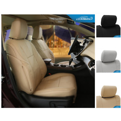 Seat Covers Genuine Leather For Chevy Traverse Custom Fit