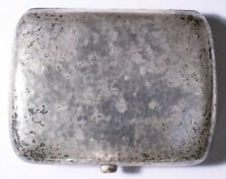 Arts And Crafts Sterling Case Birmingham England Deakin Francis 1904 Hammer Finish