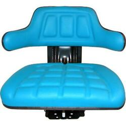 Blue Tractor Suspension Seat Fits Ford/fits New Holland 4000 4100 4110 4600su 46