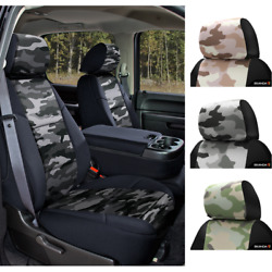 Seat Covers Traditional Military Camo For Chevy Tahoe Custom Fit