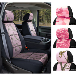 Seat Covers Pink Camo For Nissan Pathfinder Coverking Custom Fit
