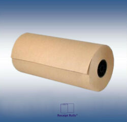 Void Fill 24quot; x 1200#x27; 30# Brown Kraft Paper Roll for Shipping Wrapping Packing