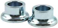 Tapered Spacer - 1/2 In Id - 1/2 In Thick - Steel - Zinc Oxide - Universal - Pai