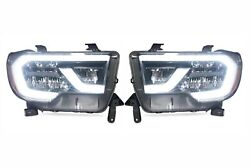 Led Plug And Play Headlight Assemblies For 2018-2019 Toyota Sequoia