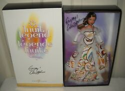 10232 Nib Mattel Canada Inuit Legend Collector Barbie Signed By Christy Marcus