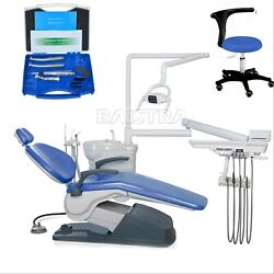 Dental Chair Hard Leather Computer Controlled Tj2688-a1 +high Andlow Handpiece Kit