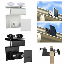 Security Gutter Mount For Ring Camera Spotlight Solar Panel With Universal Screw