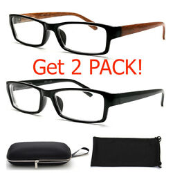 Nearsighted Shortsighted Distance Myopia Glasses for Womens Mens Minus Hard Case $14.99