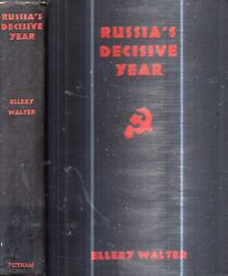 Rare 1932 Russia Signed Decisive Year Illustrated With Maps And Prints First Ed.