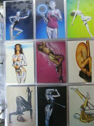Collector Cards By Comic Images/sexy Robots And Pinups