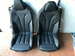 Genuine Bmw F06 Gran Coupe Full Leather Interior Seats Electric Memory