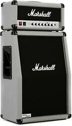 Marshall 2525h Mini Silver Jubilee And 2536a 2x12 Stack - Silver