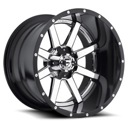4 20x9 Fuel Chrome W/ Gloss Black Maverick Wheel 8x170 For 03-19 F250 F350
