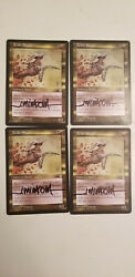 Acidic Sliver X1 Stronghold Edition Signed By Jeff Miracola Mtg