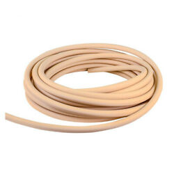 Firm High-temperature Beige Chemical Tube Inner Dia 5/16 Outer Dia 9/16 - 50ft