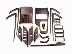 Wood Grain Car Interior Decoration Of The Trim For Toyota Fortuner 2015-2019