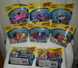 10281 Disney Jr Fisher Price Mickey And The Roadster Racers - 8 Die Cast Cars