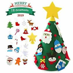 YZCBLOKY Felt Christmas Tree for Kids 2.29 FT DIY (Conical Christmas Tree)