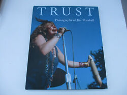 Jim Marshall Signed Art Photography Book Classic Rock And Roll Woodstock 2009