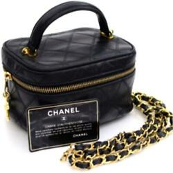 Chanel Matrasse Vanity Shoulder Bag Rare Eiko Sakai Favorite