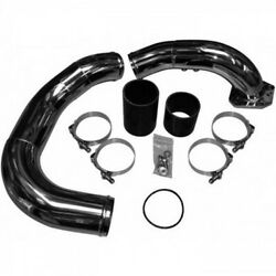 No Limit Raw Stainless Cold Side Intercooler Pipe Kit 08-10 Ford 6.4 Powerstroke