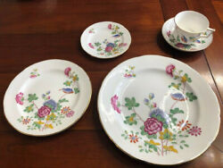 China Set Service For 12 Wedgwood Cuckoo Pattern