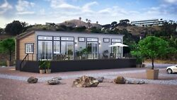 Prefab High-end Home The Perfect Adu Amazing For Temporary Or Additional Housing