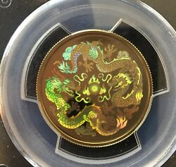2000 Pcgs Graded 150 Year Of The Dragon Gold Coinpf-68 Uhc