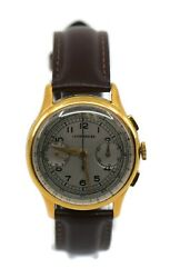 Leonidas Sa Chronograph Two Tone Stainless Steel Watch