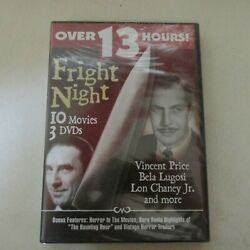 Fright Night - 3-pack Dvd, 2004, 3-disc Set New Factory Sealed